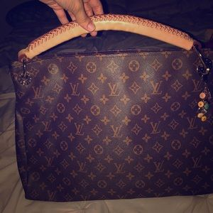Louis Vuitton Real Leather Tote Bag! ✨
